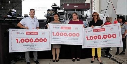 Hárommillió forintos adománnyal segíti a pécsi cég a koraszülötteket és a beteg gyermekeket
