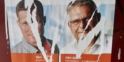 Pécsi Fidesz: önkéntesek csípték fülön Gyurcsányék embereit plakátrongálás közben