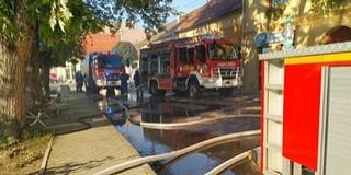 Leégett egy panzió-étterem kedden Szászváron