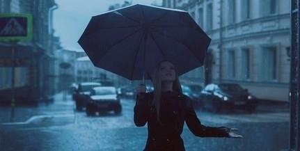 Borult, felhős, esős időjárás várható csütörtökön