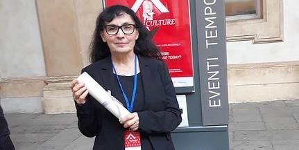 A PTE tanára, Orbán Jolán kapta a Torinói Egyetem tiszteletbeli professzori címét
