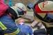 Orkán csapott le Pécsre - Katasztrófavédelmi gyakorlatot tartottak a belvárosban