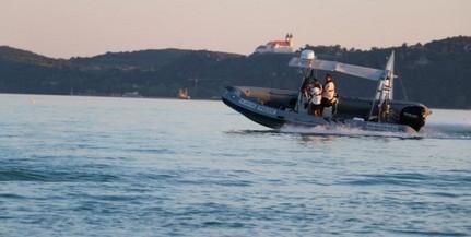 Horgászt mentettek a Balatonból a vízirendőrök