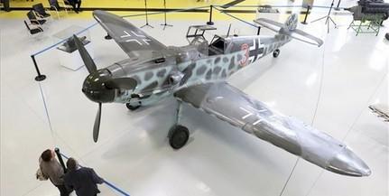 Szolnokon látható a Messerschmitt Bf 109 vadászrepülőgép