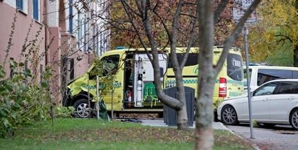 Lopott mentővel gázoltak el gyalogosokat Oslóban