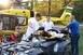 Sérült túrázót hoztak le a Mecsekből egy speciális quaddal