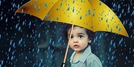 Ismét egy esős nap jön, szerdán is elázhatunk