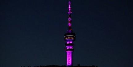 Lilában pompázik majd a pécsi tv-torony a koraszülöttek világnapja alkalmából