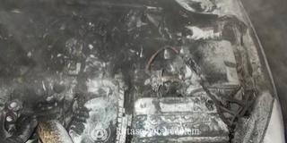 Szabadnapos tűzoltó oltott el egy lángoló kocsit Komlón