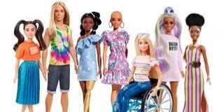 Bőrbeteg és haj nélküli Barbie babát is vásárolhatunk
