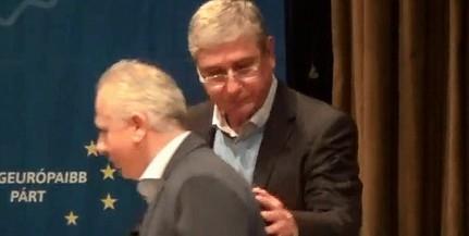 Gyurcsánnyal kampányolt a magát függetlennek mondó pécsi polgármester, Péterffy Attila