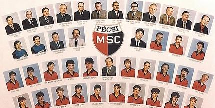 Szép emlék: 34 éve lett bajnoki ezüstérmes a PMSC