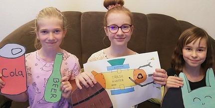 Pécsi kisdiákok nyerték az országos tehetségversenyt - A Föld megmentésére vállalkoztak!