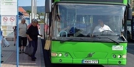 Ismét változik a pécsi buszok menetrendje, újra az első ajtókon lehet majd csak felszállni