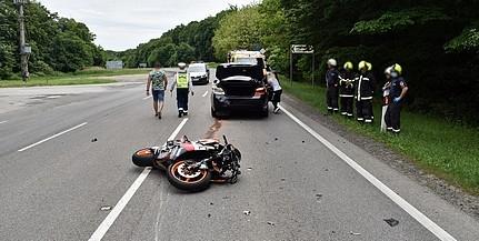 Kokain volt az Árpádtetőnél balesetet okozó motorosnál