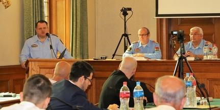 Elfogadták a megye rendőr-főkapitányának beszámolóját