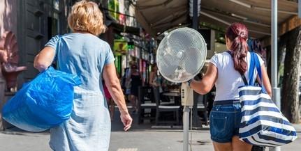 Szombaton Mohácson, vasárnap Pécsett volt a legmelegebb