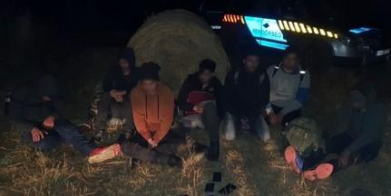 Migránsokat fogtak el éjszaka Baranyában