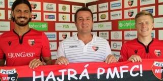 Preklet Csabával és Óvári Zsolttal erősített a PMFC