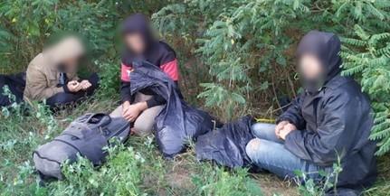 Éjjel, majd hétfőn hajnalban is migránsokat tartóztattak fel Baranyában a rendőrök