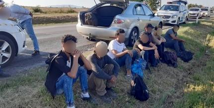 Hét migráns került elő egy grúz embercsempész kocsijából