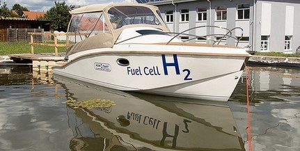 Pécsi cég készítette el az első magyar fejlesztésű hidrogénüzemű kishajót