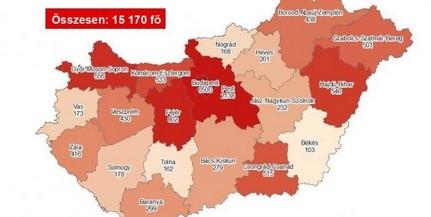 Baranyában is terjed a vírus, ismét sok új fertőzöttet azonosítottak
