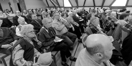Elmarad az egyházmegye szabadegyetemi előadása