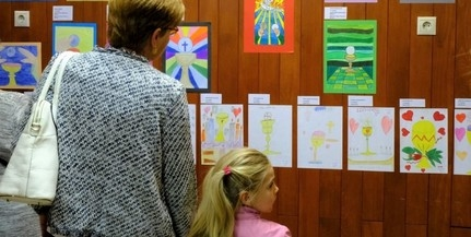 Gyermekrajzokból nyílt kiállítás a Pécsi Horvát Klubban