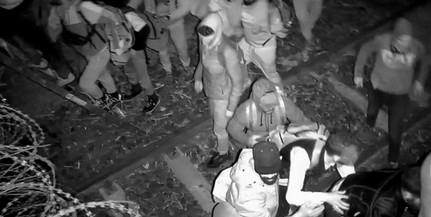 Negyven főből álló migránscsoport ostromolta meg éjjel a határkerítést