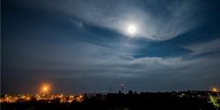 Halójelenség ékesítette az eget Pécs felett szombatra virradó éjszaka