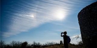 Két fénykorong is ragyogott szombaton egy baranyai település felett az égen