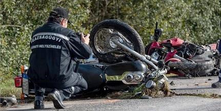 Tragédia: meghalt két motoros egy karambolban