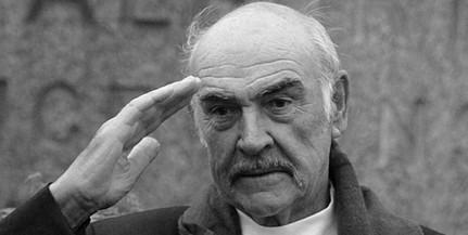 Elhunyt a legendás színész, Sean Connery