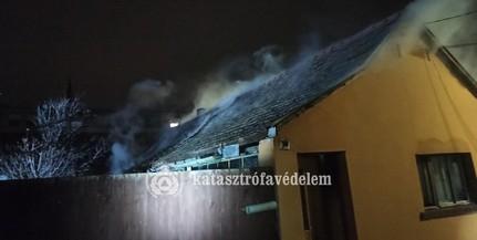 Meghibásodott villanybojler okozta a mohácsi háztüzet