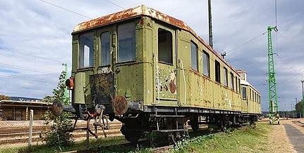 A palotabozsoki vasúti múzeumba kerül a pécsi főpályaudvar legendás vonata