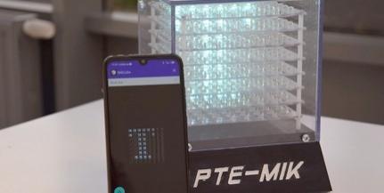 Középiskolások is programozhatják a műszaki kar LED-kockáját