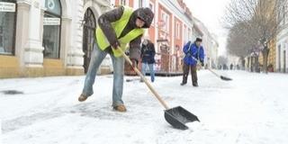A Biokom amondó, felkészültek a hétvégén várható hóhelyzetre és következményeire