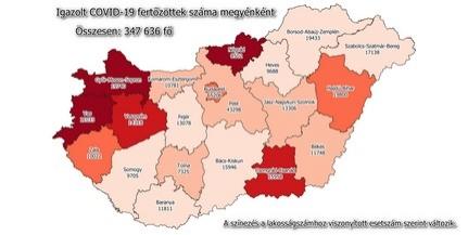Csaknem száz új fertőzöttet azonosítottak Baranyában