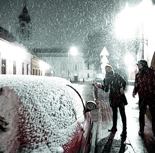 Kiadták a figyelmeztetést, vasárnap este több mint öt centi hó eshet Baranyában