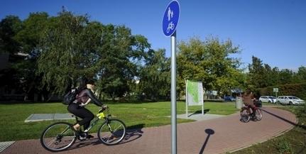 Az előző városvezetés által elnyert pénzből épül új, négy kilométeres kerékpárút Pécsett