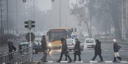 Továbbra is országszerte magas a légszennyezettség