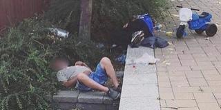 Így zajlik az élet a Csontváry utcában, a drogosok, részegek, hajléktalanok hajlékában - Videó!