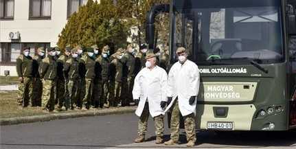 Tesztüzemben bevetették a honvédség oltóbuszait