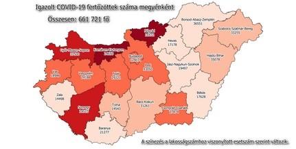 Újabb csúcsot döntött Baranyában az új fertőzöttek száma