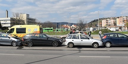 Negyvenöt baleset történt egy hét alatt Baranyában