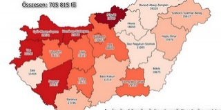 Baranyában emelkedik az országban a legnagyobb arányban a fertőzöttek száma