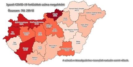 Ismét több mint száz új fertőzött van Baranyában