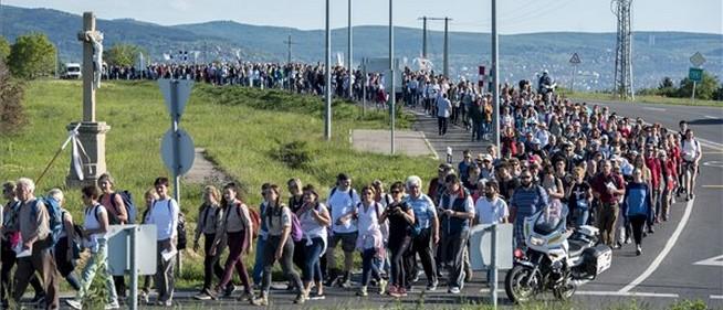 Idén nem tartják meg a máriagyűdi gyalogos zarándoklatot, online lelki napot rendeznek