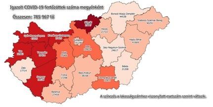 Továbbra is jóval száz alatt az új fertőzöttek száma Baranyában